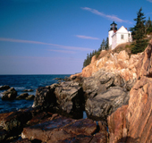 Lighthouse at Acadia National Park