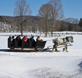 Sleigh Ride in Winter